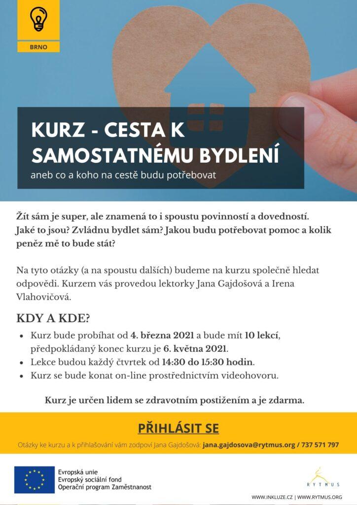 On-line kurzy pro lidi se zdravotním postižením (Brno)