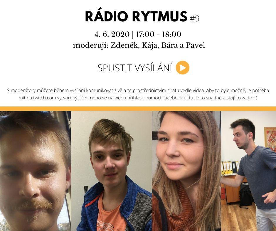 Deváté vysílání Rádia Rytmus